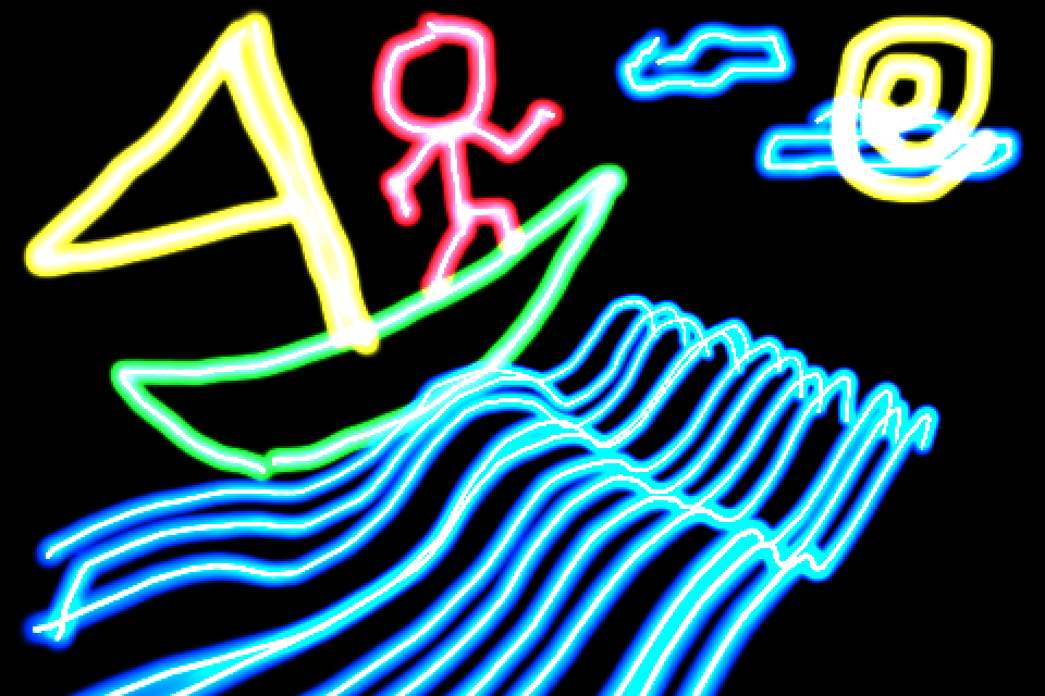 Screenshot 3D Glow Doodle