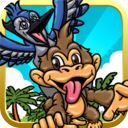 Angry Monkey & Birds Escape Game HD - Free Games by Jimm Apps mobile app icon